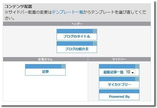 So-netブログテンプレート設定9